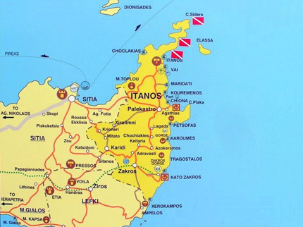 5 belles surprises à l'Est de la Crête   Tips&Voyages