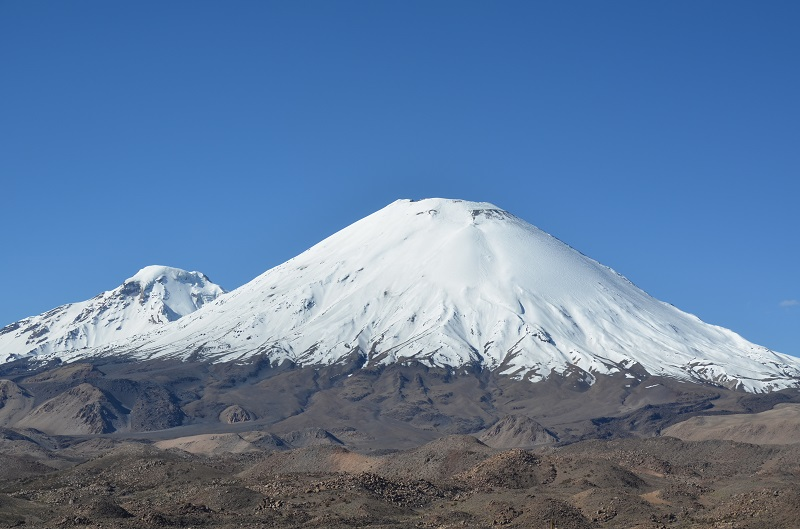 Parinacota nord chili